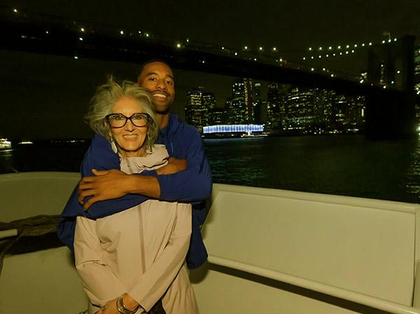 Image of Matt James's is grateful to his single mother