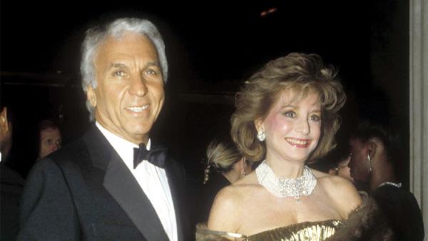 Image of Barbara Walters with third husband, Merv Alderson
