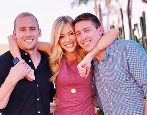 Image of  Jeff Hornacek's children; Ryan, Tyler, and Abby