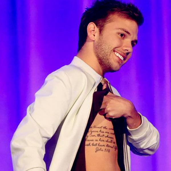 Image of Chase Chrisley tattoo