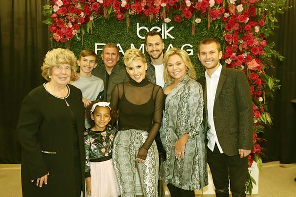 Image of Chase Chrisley with family