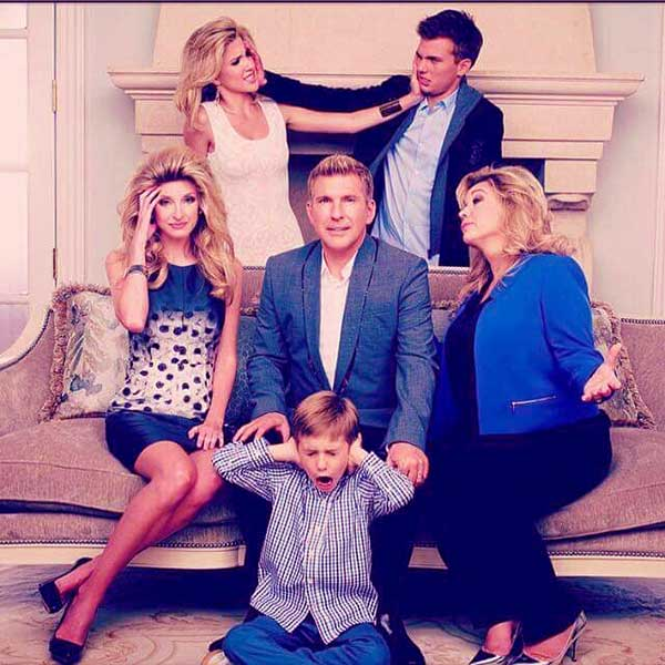 Image of Grayson Chrisley with his family