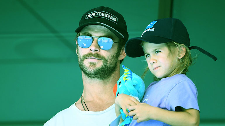 Image of India Rose Hemsworth wikipedia: Age, Parents, Grandparents, Siblings of Chris Hemsworth and Elsa Pataky's daughter