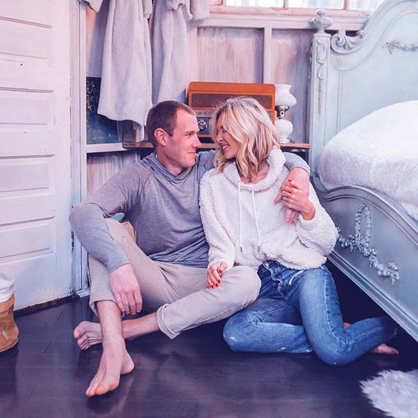 Image of Lindsie Chrisley with husband Will Campbell