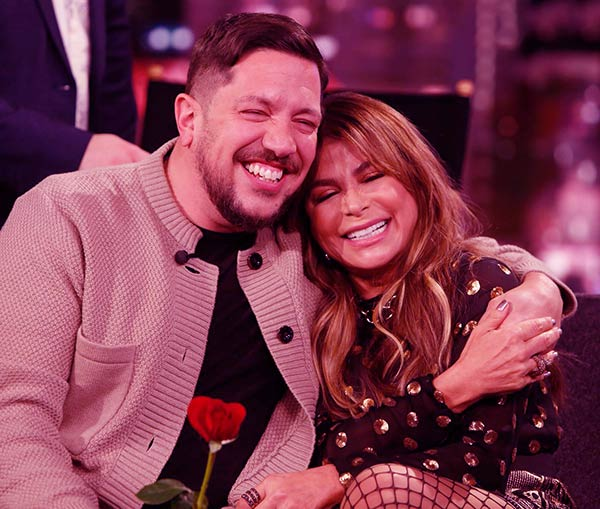 Image of Sal Vulcano rumored dating with co-star, Paula Abdul