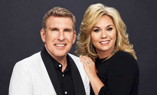 Image of Julie Chrisley with husband Todd