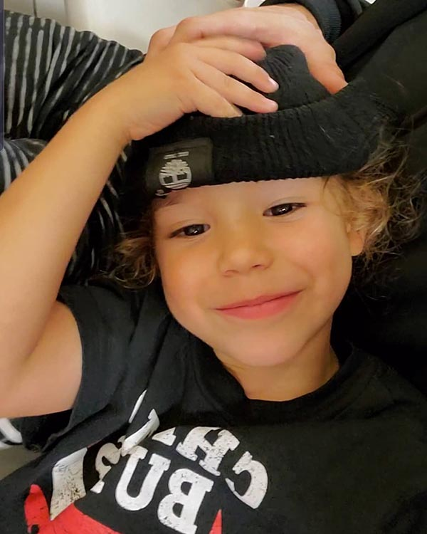 Image of Naya Rivera and Ryan Dorsey's son, Josey Hollis Dorsey