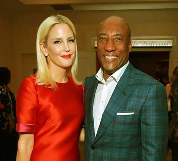 Image of Jennifer Lucas is the wife of Byron Allen