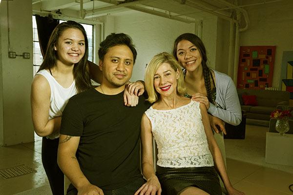 Image of Vili Fualaau and his family