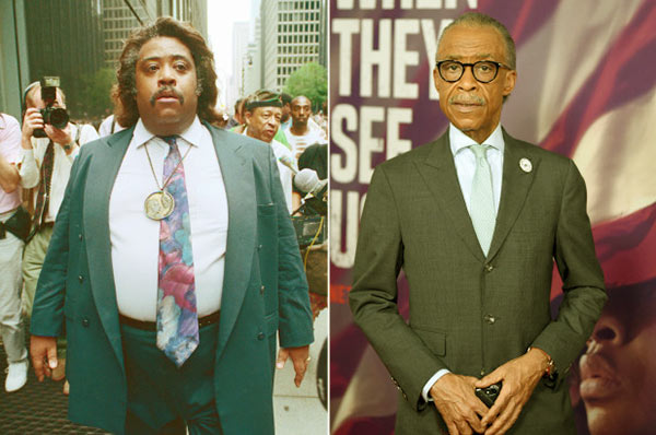 Image of Al Sharpton's weight loss before and after pictures