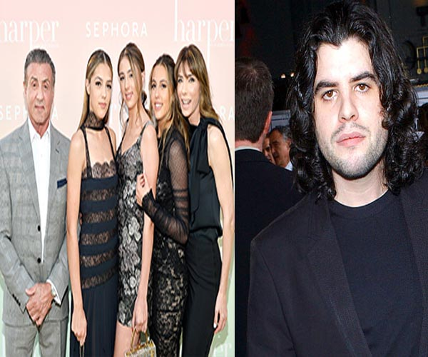 Image of Seargeoh Stallone and his family